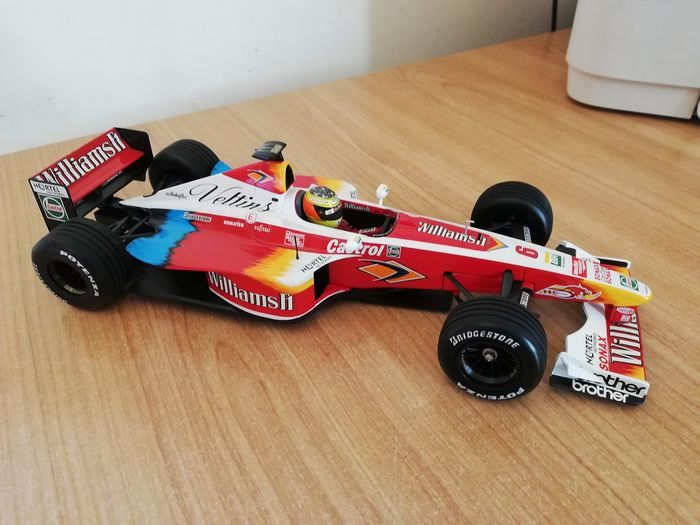 Paul's Model Art Minichamps - 1:18 - Williams Supertec F1 - Ralf Schumacker - FW 21 - 1999