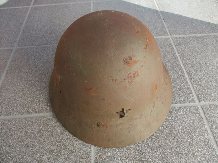 Japan - Army/Infantry - Helmet, with star insegna