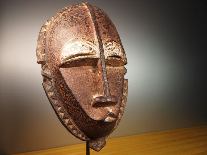 Mask - Wood - Mblo - BAOULE - Ivory Coast