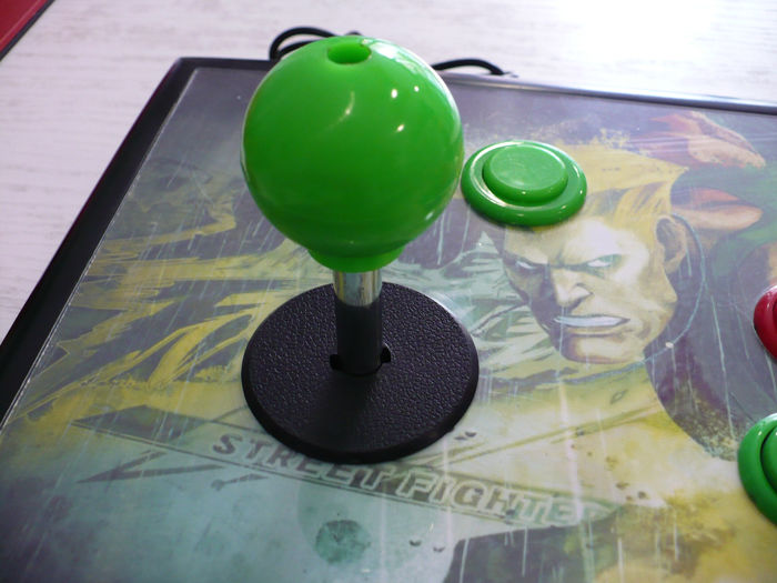 1 Arcade Stick with Sanwa Buttons - ARCADE STICK (0) - Without