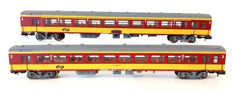 Minitrix N - 13386/13387 - Passenger carriage - Two ICR-Benelux carriages - NS