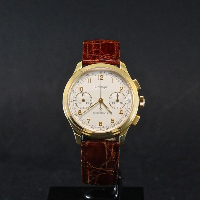 Eberhard & Co. - Oldflyer Chrono oro - Heren - 2000-2010