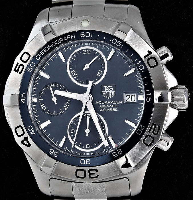 TAG Heuer - 2000 Aquaracer Chronograph - Date - Swiss automatic - 300 meter - Ref. No: CAF2112.BA0809 - Excellent - Warranty - Uomo - 2011-presente