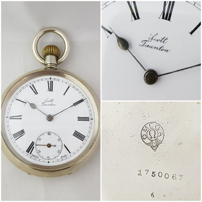 Omega - Scott Taunton - pocket watch NO RESERVE PRICE - Herren - 1901-1949
