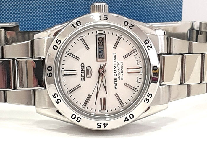 "Seiko 5 - "" NO RESERVE PRICE "" Automatic 21 Jewels - SYMG35K1 