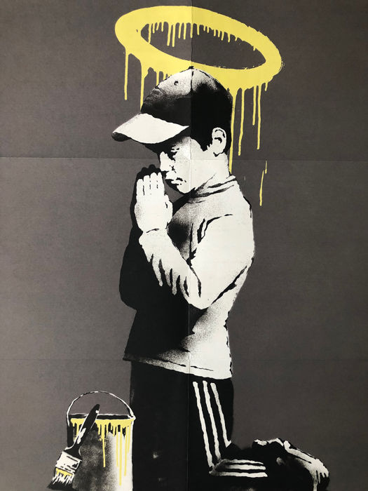 Banksy - Forgive us our trespassing  - 2010 - 2010s