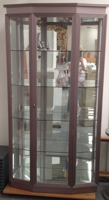 Vostermans Interieur & design Parts   - Glass display cabinet (1)