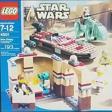 LEGO - Star Wars - 4501 - Ruimteschip Discontinued Star Wars Lego set #4501 Mos Eisley Cantina
