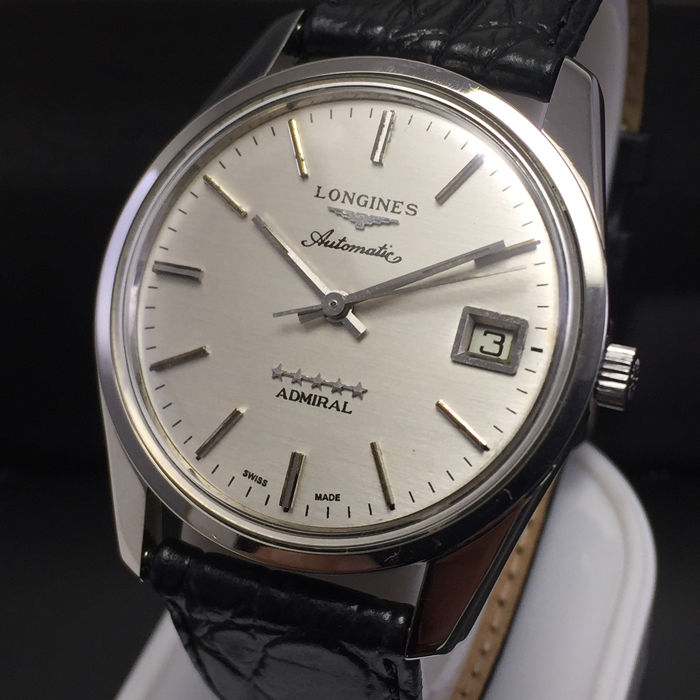 "Longines - Admiral Automatic 5 Stars ""NO RESERVE PRICE"" - Men - 1970-1979 Watches Longines, used for sale"