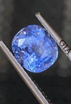 1 pcs  Zafiro - 2.06 ct
