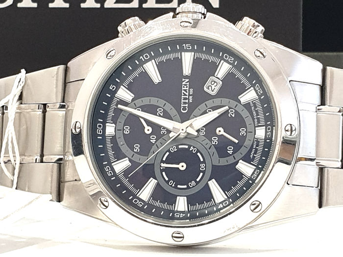"""Citizen - """" NO RESERVE PRICE """" SPORT CHRONOGRAPH - AN3530-52L - Heren - 2011-heden"""