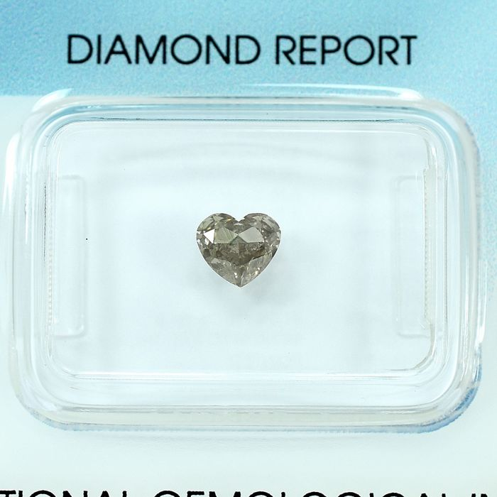 Diamant - 0.50 ct - Hart - Light Brown - Si2 - NO RESERVE PRICE