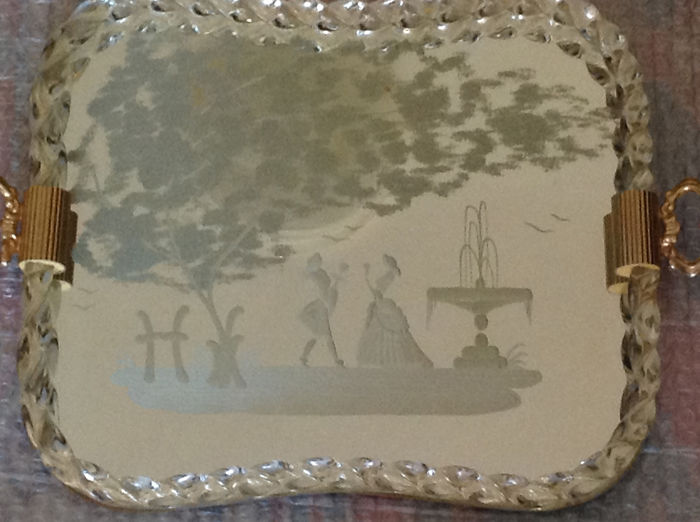 Murano Glass - Murano tray - Glass