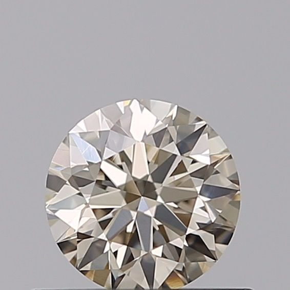1 pcs Diamant - 0.40 ct - Rond - very light brown - VS2 ***No Reserve***