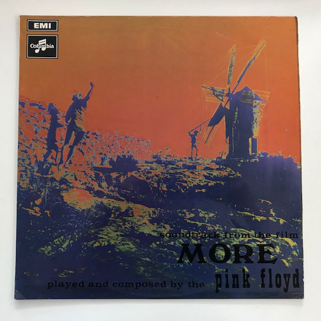 Pink Floyd - More - black/silver label pressing in original UK flipback sleeve - LP Album - 1969/1969
