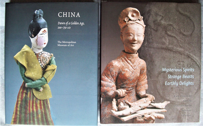 Buch (2) - Hardcover mit Schutzumschlag - Early Chinese art in American Collections - China - Han & Tang Dynastien