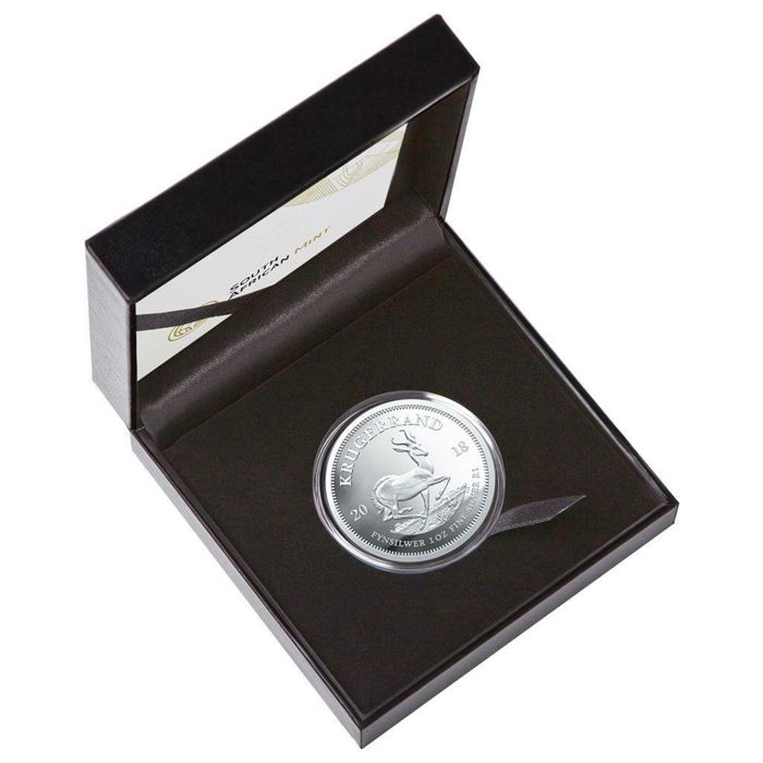South Africa - Krugerrand 2018 - Limited Proof edition - 1 oz -Polierte Platte (PP) - Silver