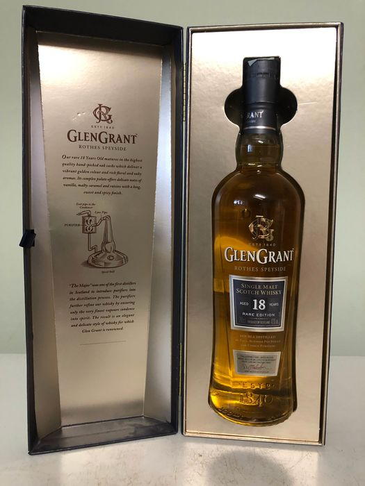 Glen Grant 18 years old Rare Edition 2016 - 70cl
