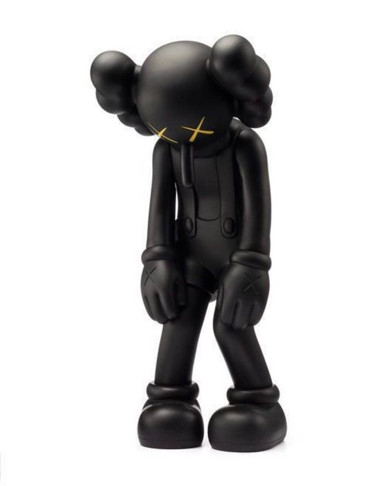 KAWS  - Small Lie (Black) & T-Shirt