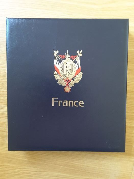 France 2000/2014 - Davo album with sheets with pockets for storing regular postage stamps, without stamps