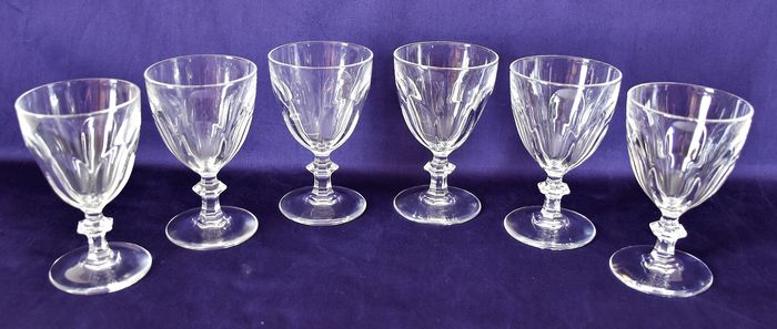Cristal d'Arques - Glasses (6) / Glasses 11,5 cl model Rambouillet - Crystal