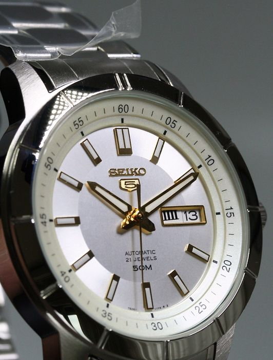 "Seiko - ""NO RESERVE PRICE"" Automatic 21 jewels  - New No Reserve Price - Heren - 2011-heden"