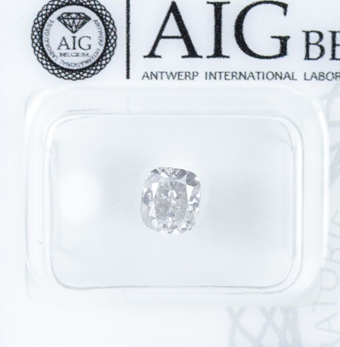Diamante - 1.02 ct - Blanco natural - color F - I1  *NO RESERVE*