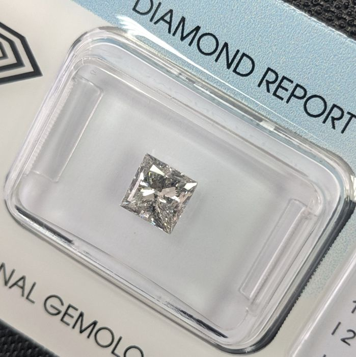 Diamant - 1.00 ct - Prinses - J - IGI Antwerp - No Reserve Price, P2