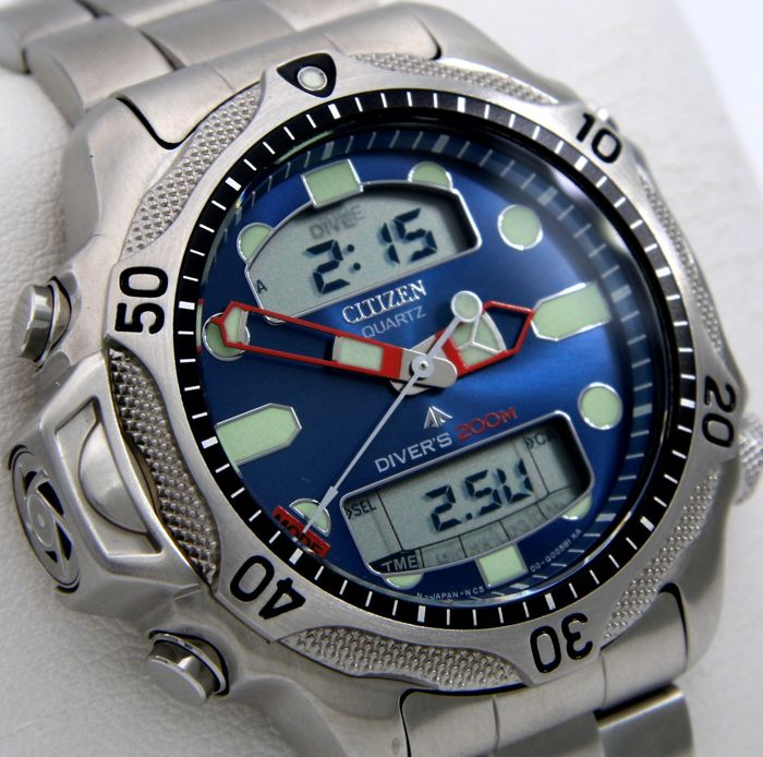 "Citizen - Aqualand Promaster Diver's 200M ""Blue Dial""- Never Worn - - Heren - 2011-heden"
