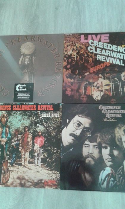 Creedence Clearwater Revival - Diverse titels - LP's - 2008/1973