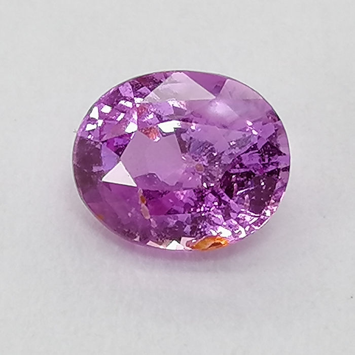 Pink sapphire, - 1.22 ct