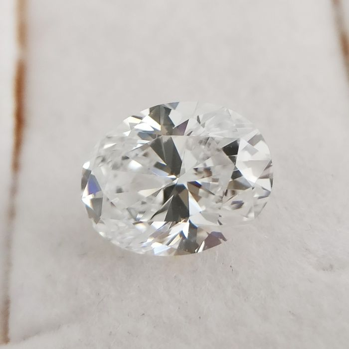 1 pcs Diamond - 1.01 ct - Oval - D (colourless) - VVS1