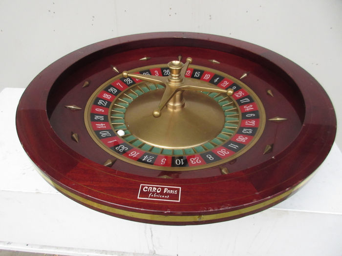 Caro French Roulette Wheel Roulette Cylinder Brass Catawiki