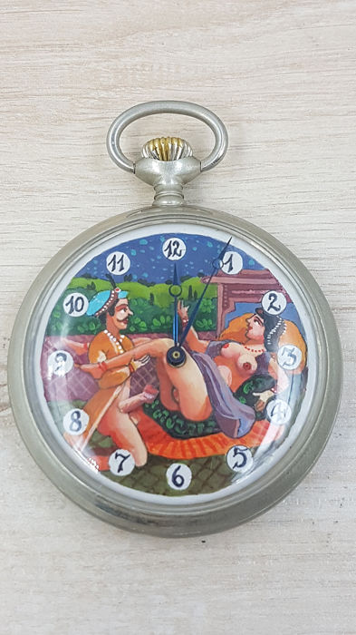 Doxa - Arabic  sex scene - Erotic pocket watch - Unisex - 1901-1949