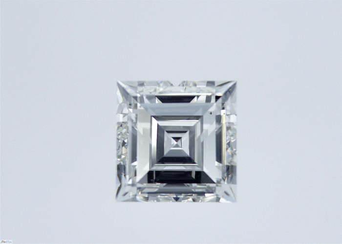 1 pcs Diamante - 2.41 ct - Cuadrado, Paso de corte - G - VS2