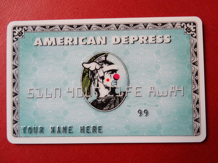 D*Face - Depress Card