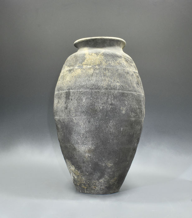 GROTE NETTO POT-TL GETEST - 560 mm - Terracotta - China - neolithicum