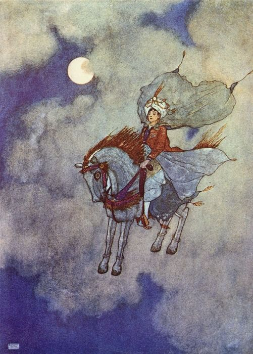 Edmund Dulac (ill) - Stories from the Arabian Nights - 1907