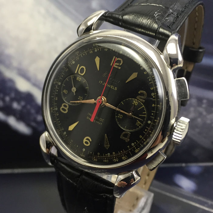 "Helina Watch - Chronographe Suisse ""NO RESERVE PRICE""  - Uomo - 1960-1969"