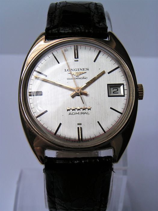 Used, Longines - ADMIRAL 5***** - Automatic - 9K Gold- 73737 - Men - 1970-1979 Watches Longines for sale