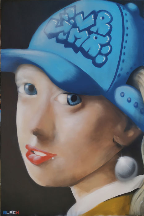 Maxime Blachere - The girl with the pearl ... and the hat