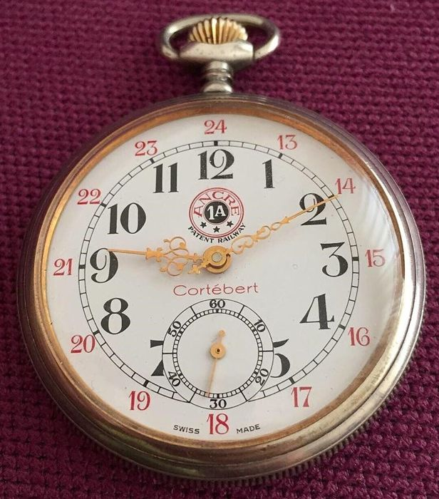 Cortébert - Pocket Watch - NO RESERVE PRICE - CAL. UT 6497 - Heren - 1970-1979