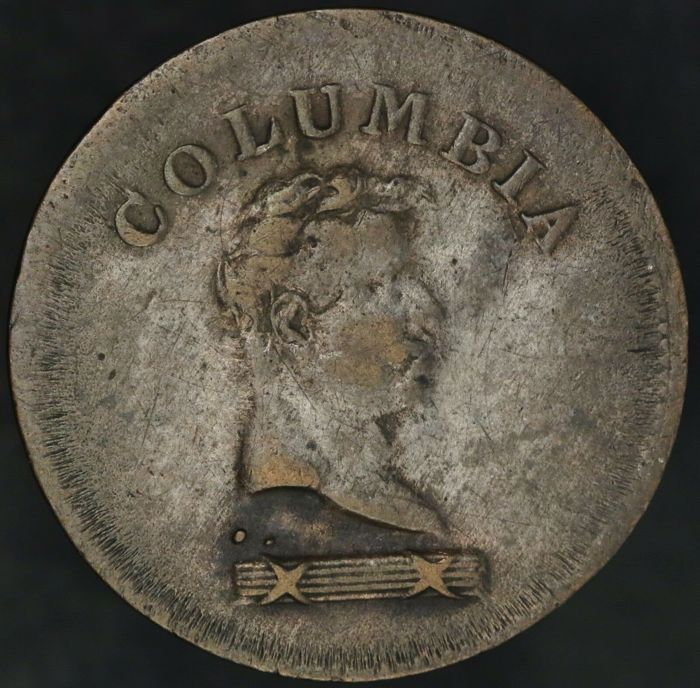 Canada - Columbian farthing token z.j. (ca. 1820-1830) - Cuivre