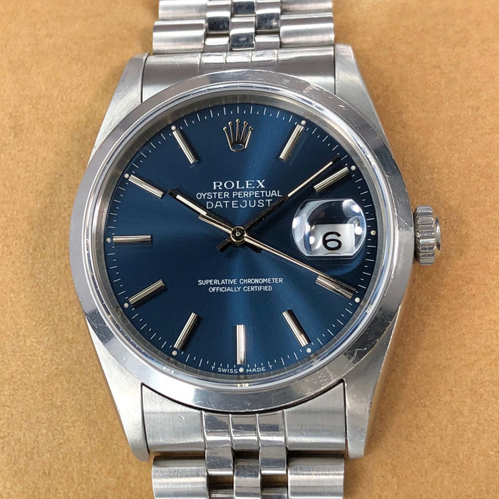 Rolex - Oyster Perpetual Datejust - 16200 - Unisex - 1990-1999