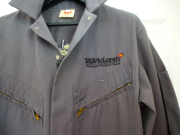Clothing - TAG Mclaren Paragon Project Coverall - 1999-2005