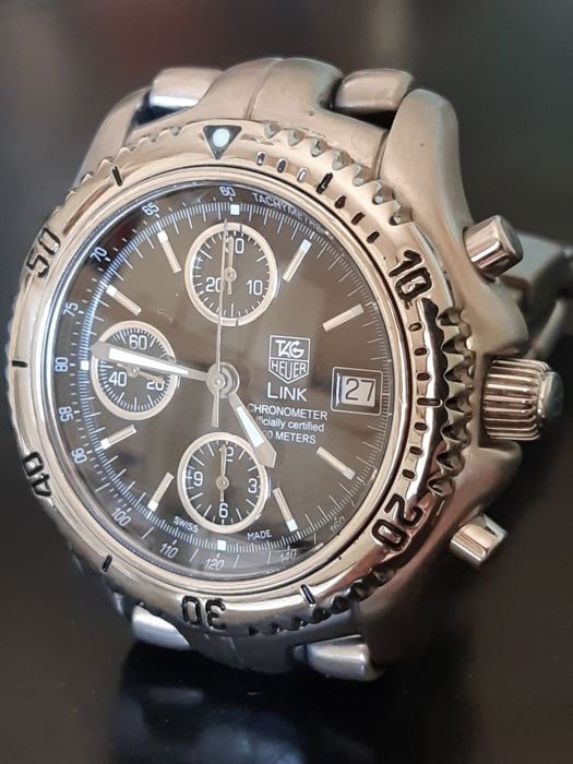 TAG Heuer - Chronograph Link Cal. 16 - Ref. CT5111 - Men - 2000-2010