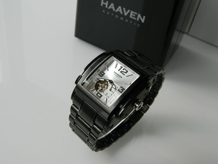 """""""NO RESERVE PRICE"""" Haaven - 9314 -03  Automatic Special Edition Grey Dial  - Herre - 2011-nå"""