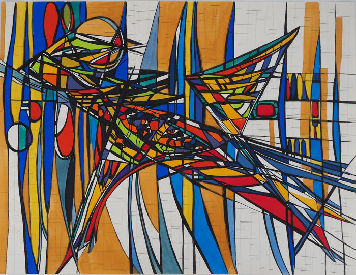 Bernard Herzog - Abstraction en couleur