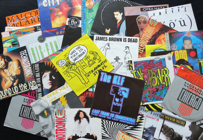 Great 40 x Singles lot of mainly early HOUSE/ACID 7inch singles.  - Multiple artists - Great lot of mainly early HOUSE/ACID 7inch singles. Also a bit ITALO & RAP - Multiple titles - 45 rpm Single - 1983/1992
