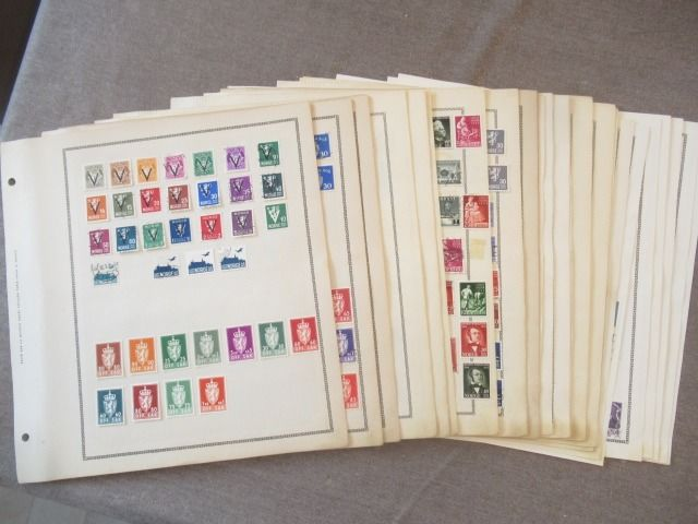 Noorwegen - Stamps collection